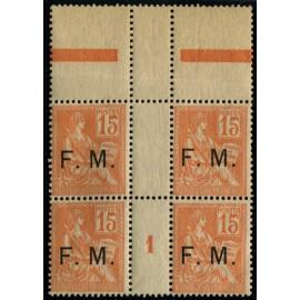 Franchise Militaire (lot 3851 à 3912)